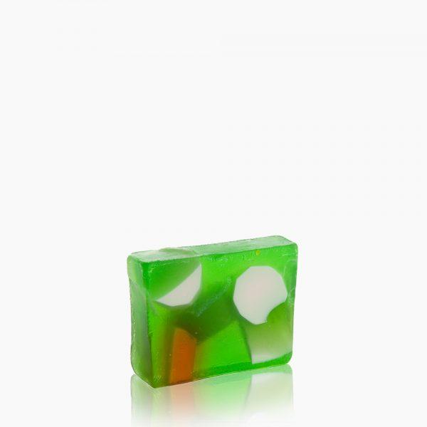 Original Hand Made Dead Sea Salt Soap - Green Apple